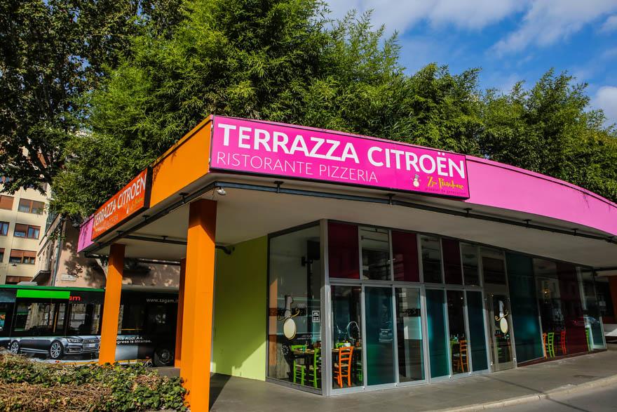 Terrazza Citron tra C3 e Pizza Margherita Weekend Premium
