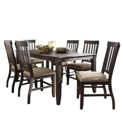 Farmhouse Dining Room Chairs Nursing For Small Rooms Sets Table Weekends Only Ashley Dresbar 7 Piece Rustic Set