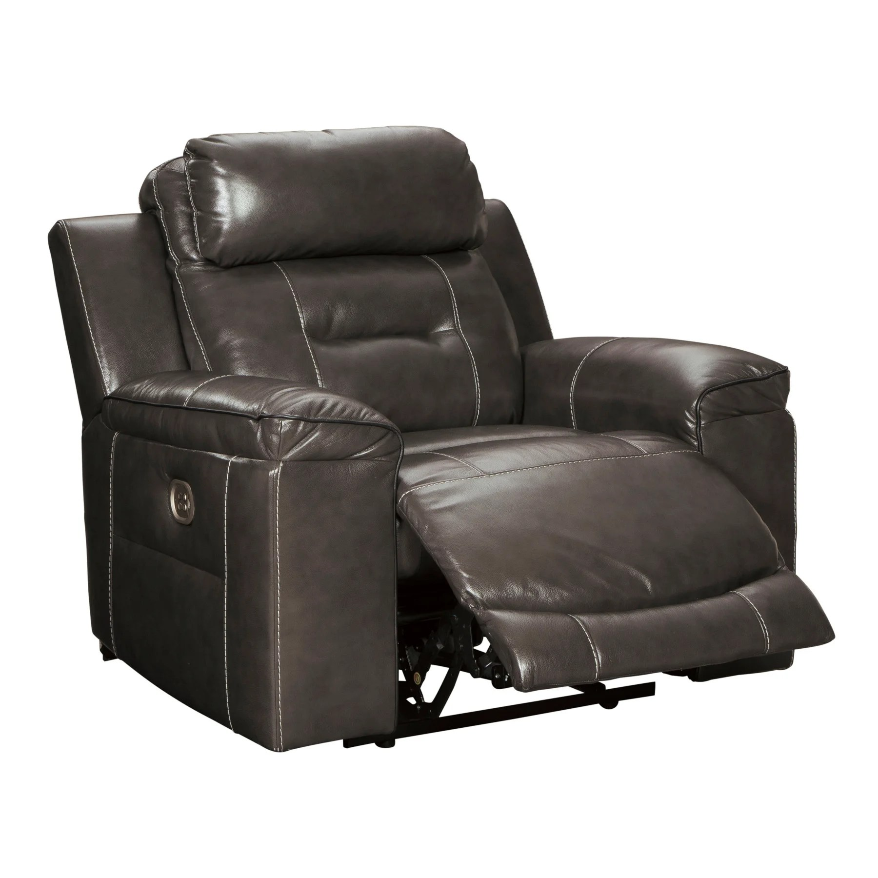 electric recliner sofa not working hartwell bench cushion power recliners lift sofas ashley pomellato top grain leather