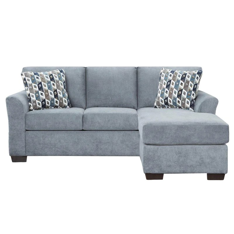 microfiber sofas circle sofa bed anna blue chaise weekends only furniture
