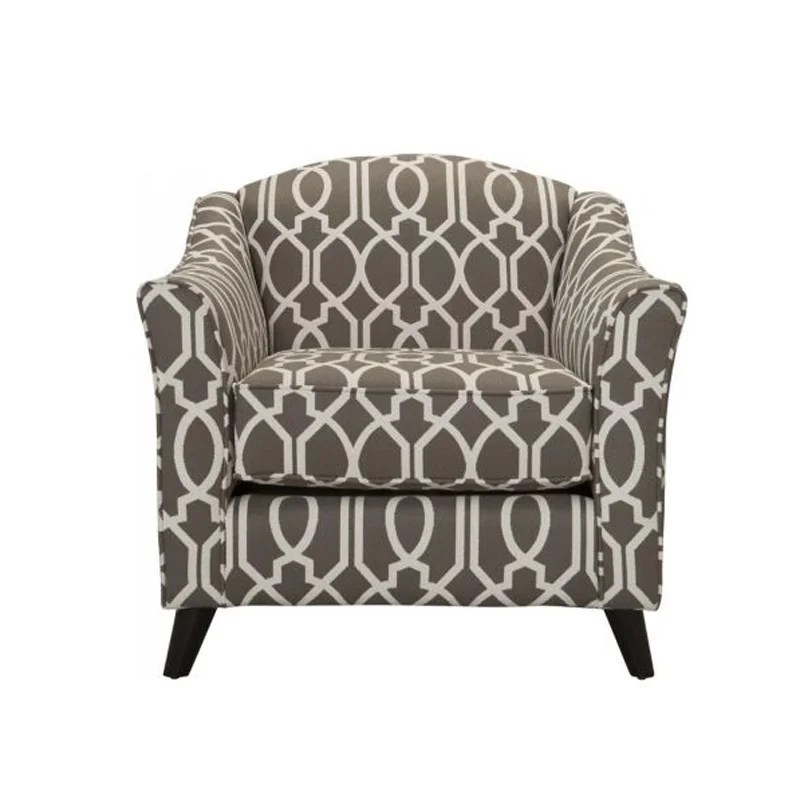 accent chairs gray pattern wheelchair height fusion coleman dark patterned chair weekends only storewide sell off