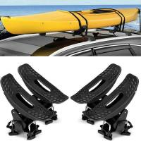 Car Top Racks. Kayak Roof Rack Cradles Weekend Warrior ...