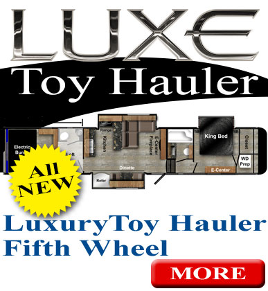 wheelchair hauler dining room table and chairs set accessible toyhauler luxury fifth wheel toy