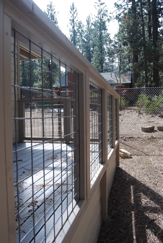 Wood Porch Railing