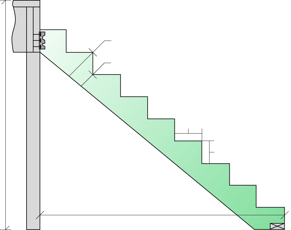 Engineered Stair Stringers Weekes Forest Products | Wood Stringers For Stairs | Metal | Double Stringer | Stair Tread | Framing Square | Risers
