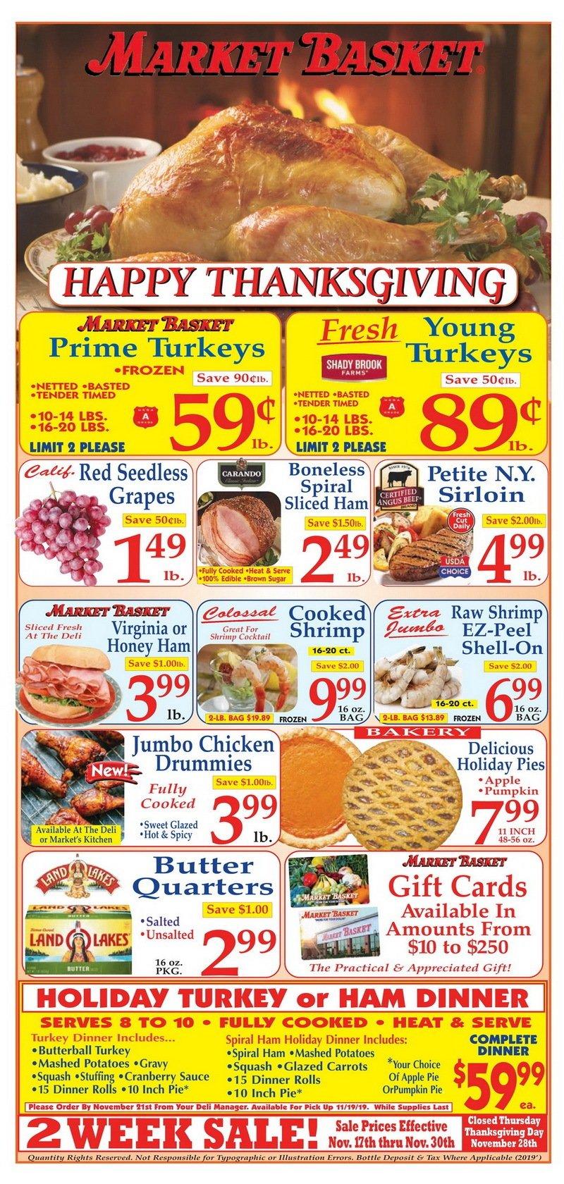 Fresh Market Hours Thanksgiving Day