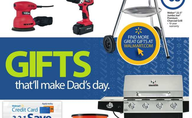 Walmart Ad Father S Day Gifts 5 29 6 19 2016