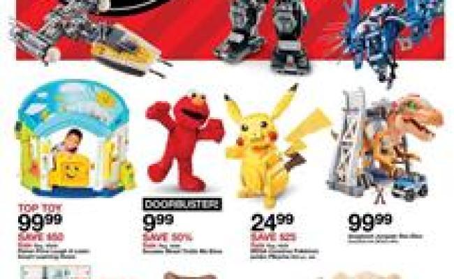 Target Black Friday Ad Toys 2018 Doorbusters Bogo Deals