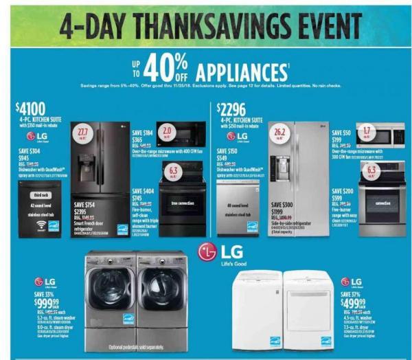 Sears Black Friday Ad 2018