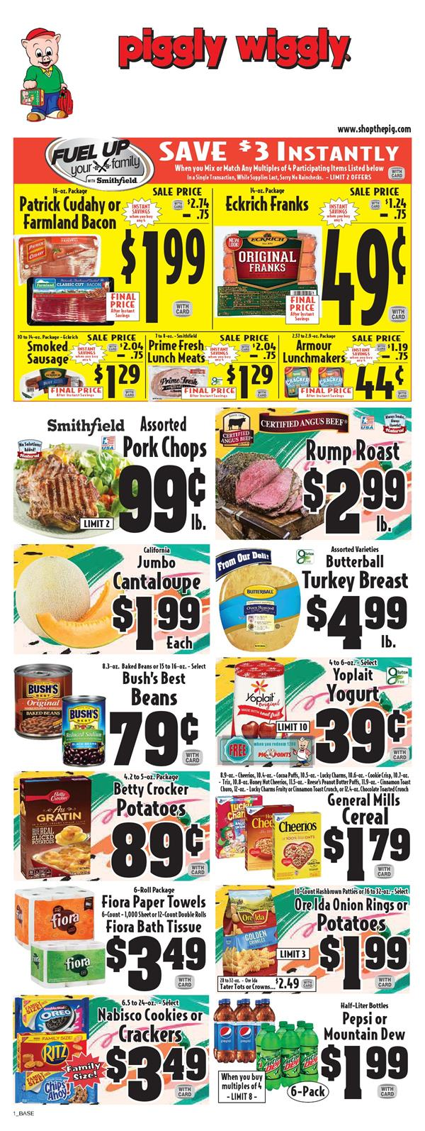Ad Specials Wiggly Piggly Weekly