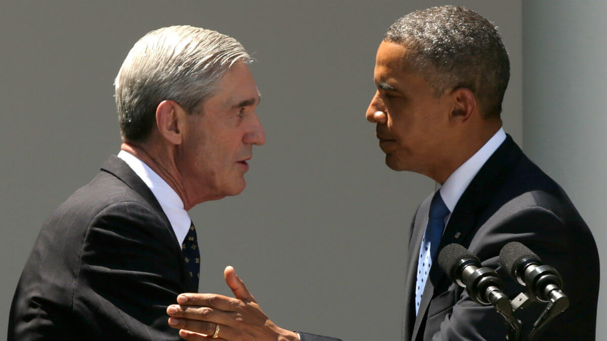 Does anyone have the guts saying Robert Mueller is not an angel?