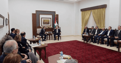 J Street leaders meet with Mahmoud Abbas