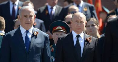 Russia and Israel grapple with geostrategic interests in Mideast