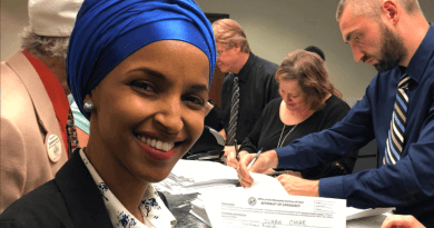 Ilhan Omar committed to sanctioning Israel