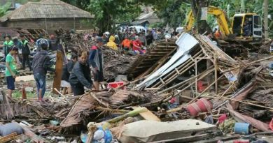 Over 222 people killed in tsunami in Indonesia