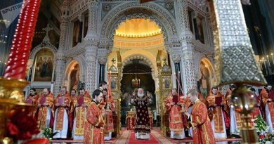 Troubles faced by the Russian Orthodox Church in Ukraine