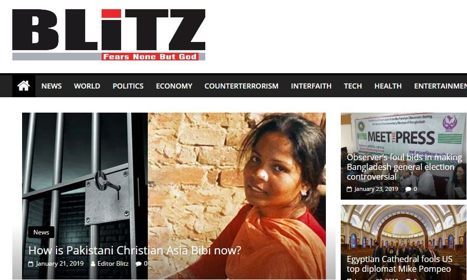 Blitz online edition blocked in Bangladesh