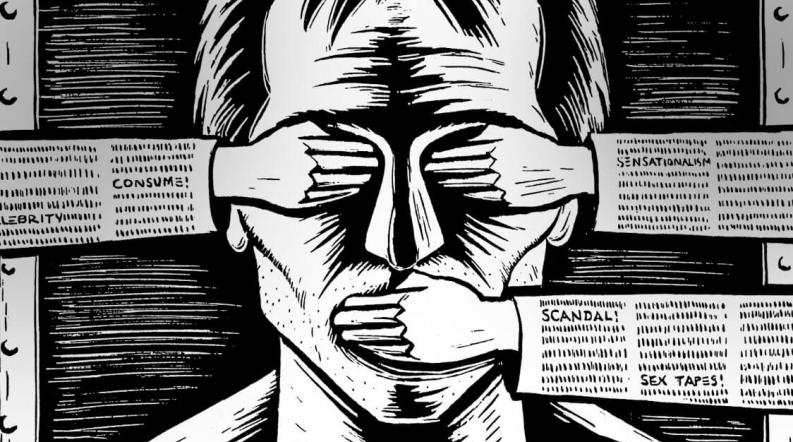 Image result for images of press repression