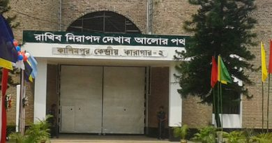 Kashimpur Central Jail officials abetting with anti-government elements