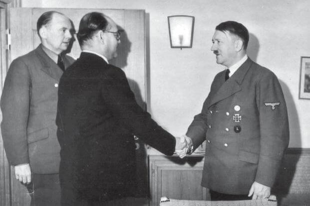 Connections between India and Hitler