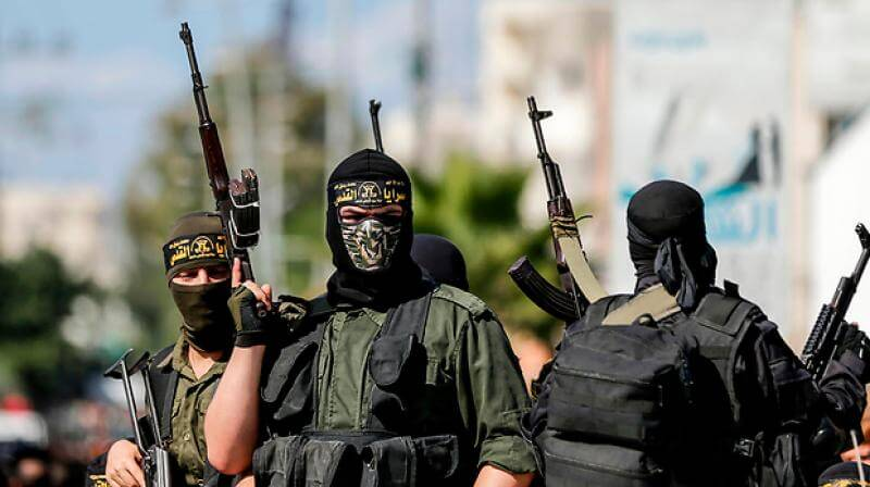 Hamas using coded messages on a satellite television station and social media to plot a series of attacks on Israel