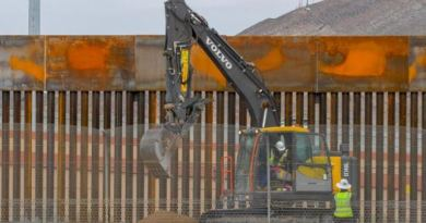 President Trump's border wall is going up