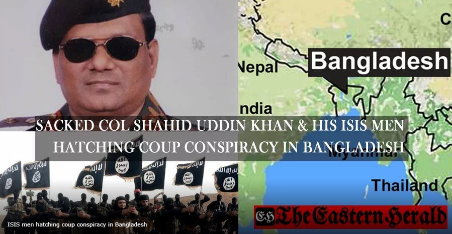 ISIS men hatching coup conspiracy in Bangladesh