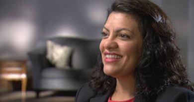 Tlaib met with AMP members during Palestine Advocacy Day