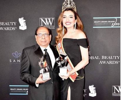 Miss India Worldwide' Shree Saini recognized at Global