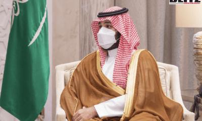 Saudi Arabia's Crown Prince Mohammed bin Salman, Chinese Foreign Minister Wang Yi in Neom, Kingdom's Foreign Minister Faisal bin Farhan, Gulf Cooperation Council