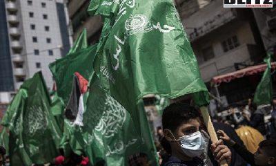 Große Koalition verbietet Hamas-Flaggen, Hamas, German
