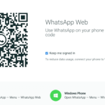 WhatsApp Web now available for iPhone users!