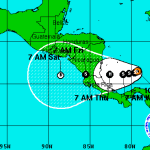 Hurricane forecasted to hit Costa Rica on Thanksgiving Day