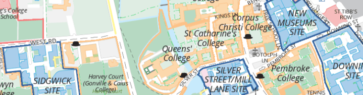 Mapping of Cambridge University under criticism