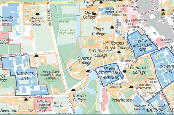 Mapování  univerzity v Cambridge vyvolává ostré diskuze