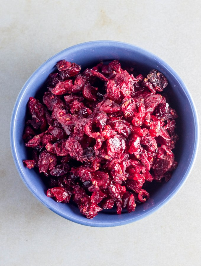 How to Make Dried Cranberries in the Oven