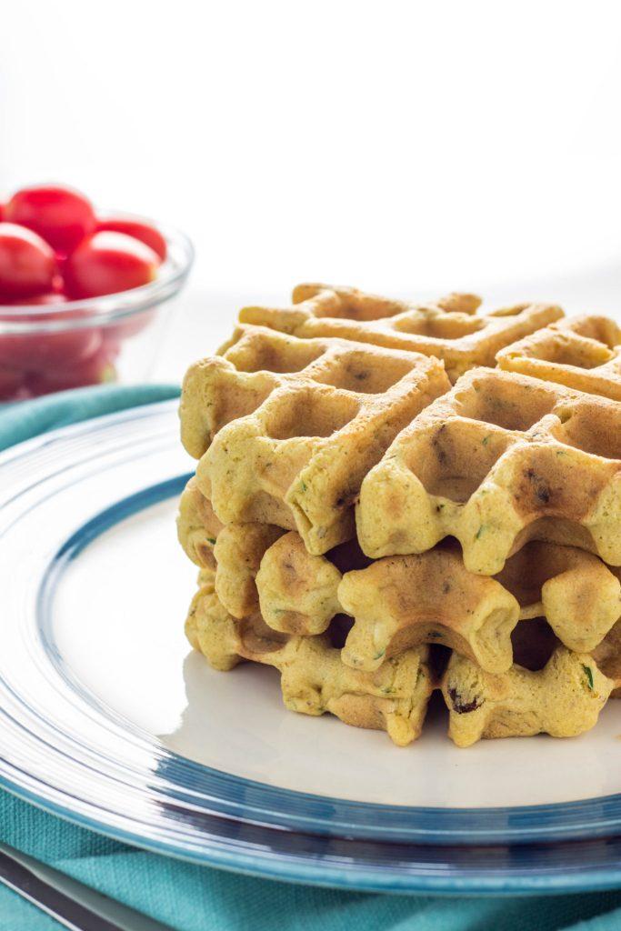 Vegan and Gluten Free Savory Waffles