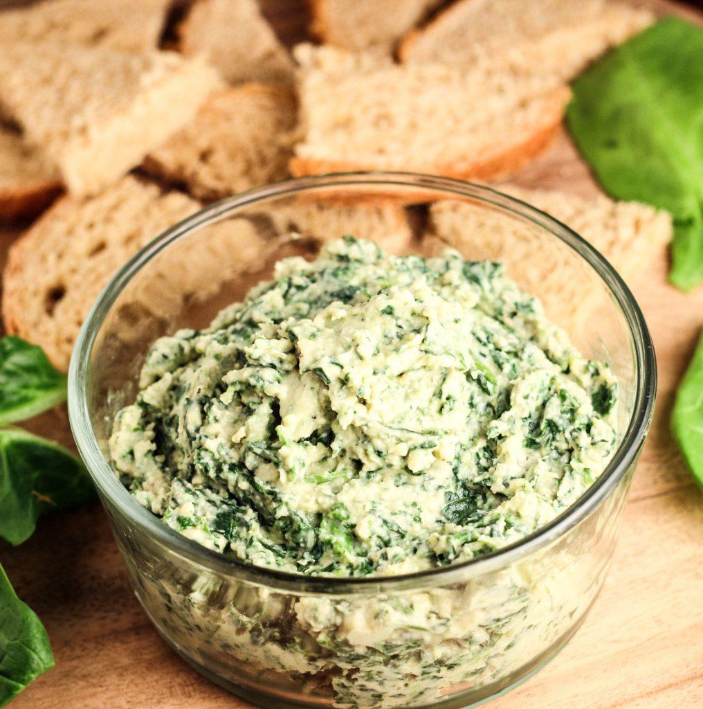 Vegan Spinach White Bean Dip