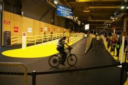 Mondial du cycle 09, la piste d'essai VAE