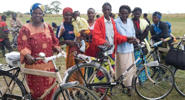 Le vélo comme outil de lutte contre la pauvreté
