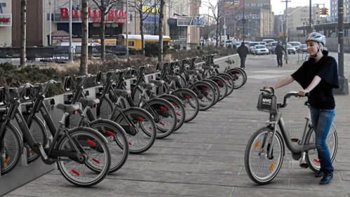 New York Et Son Système De Vélo En Libre Service