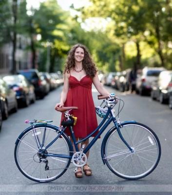 Brooklyn Bicycle Portrait Jessica