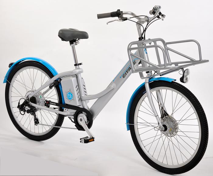 Gitane Alter Bike, un VAE fonctionnant à l'hydrogène