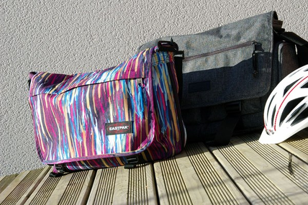 [Test] Eastpak, des sacs bandoulières pour le cycliste urbain trentenaire