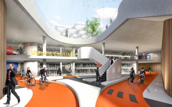 Le plus grand parking à vélo du monde est à Utrecht