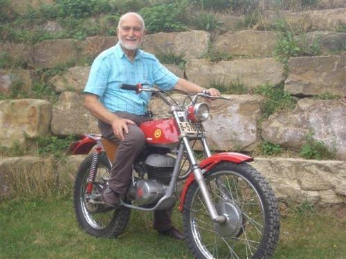 Pere Pi On A Montesa 250 Trial 1968 2011