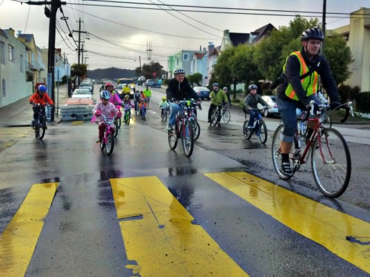 Vélobus, les enfants aussi peuvent aller travailler en vélo !