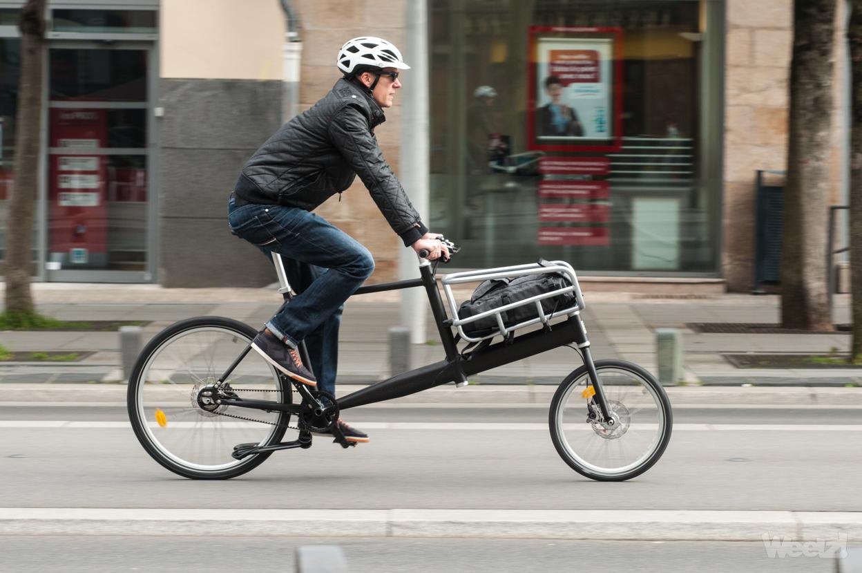 [Test] Biporteur Biomega PEK, le vélo cargo léger au design danois
