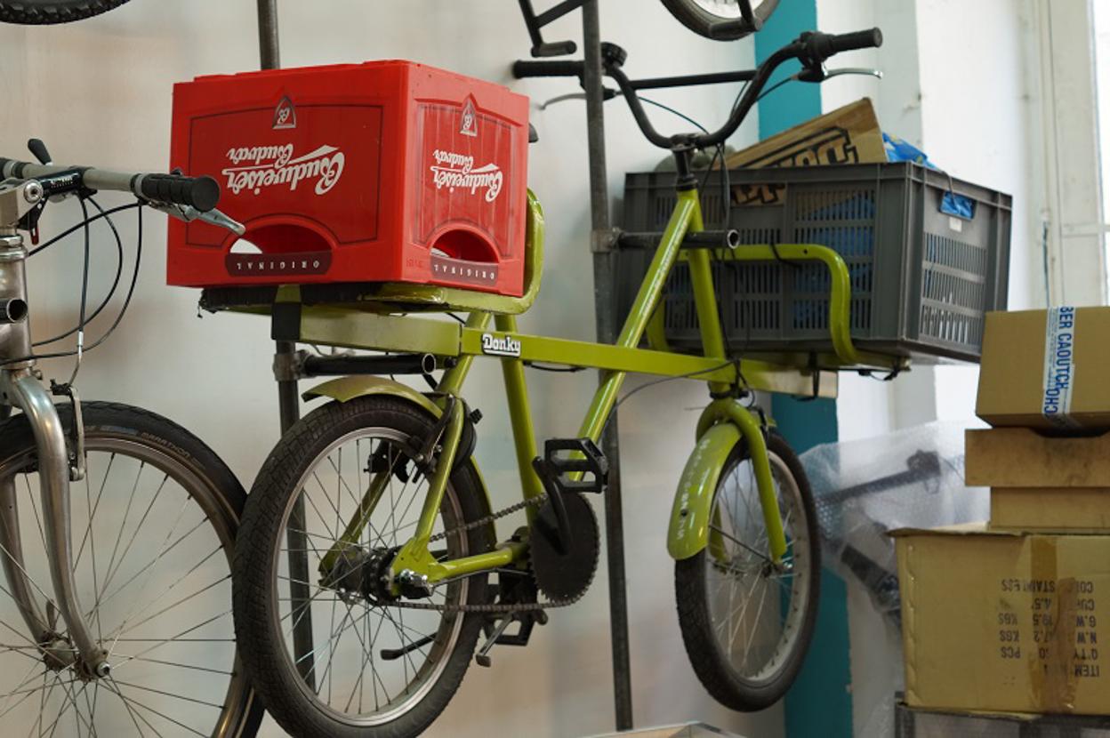 Cyclutile, l'atelier vélo cargo, notre visite en photos