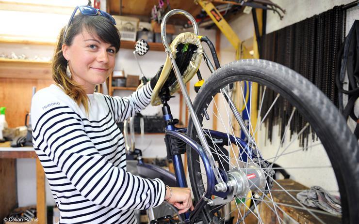 Atelier vélo La Petite Rennes : auto-réparation et réemploi